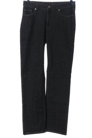 Vanilia Jeansy z prostymi nogawkami czarny W stylu casual