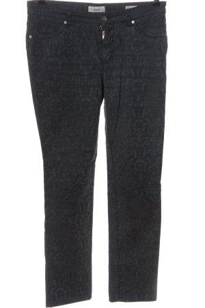 Vanilla Pantalón tipo suéter negro-gris claro look casual