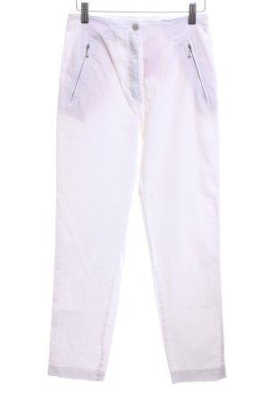 Vanilla Pantalón elástico blanco look casual