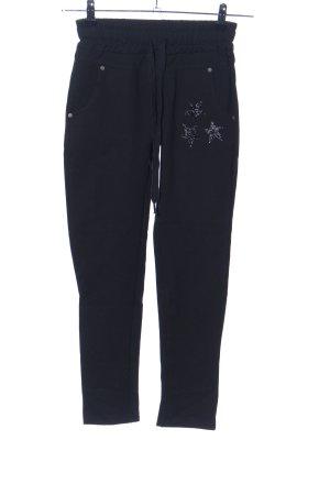 Vanilla Pantalón elástico negro look casual