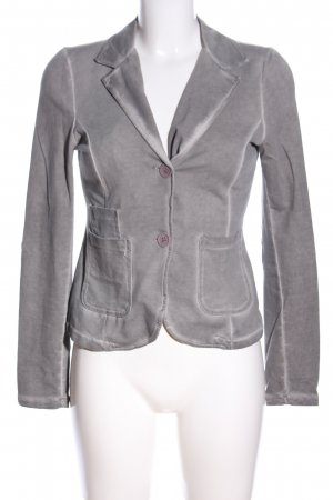 Vanilla Sweatblazer hellgrau Business-Look