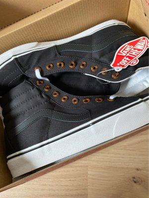 Vans High top sneaker zwart-wit