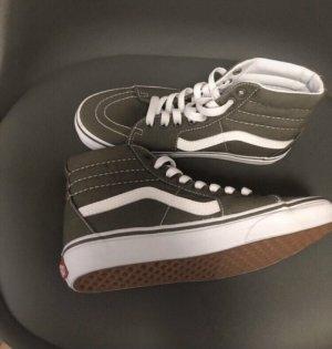Vans High Top Sneaker khaki