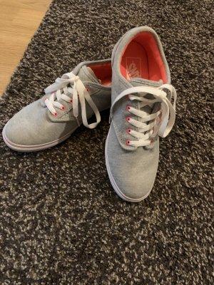 Vans Skater Shoes light grey-salmon