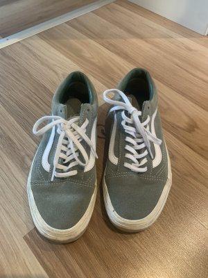 Vans Zapatos de patinador gris verdoso
