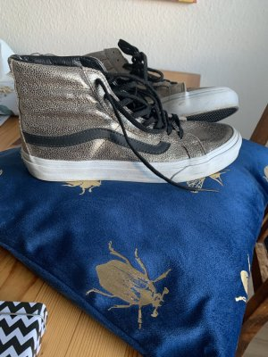 Vans Chaussure skate doré