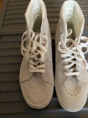 Vans Sneaker alta crema-beige chiaro