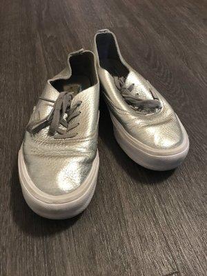 Vans Zapatos de patinador color plata
