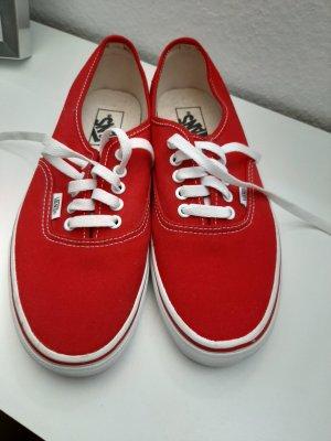 Vans Zapatos de patinador rojo