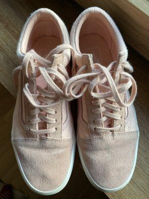 Vans Skaterschoenen stoffig roze-rosé