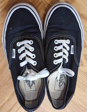 Vans Lace-Up Sneaker white-black