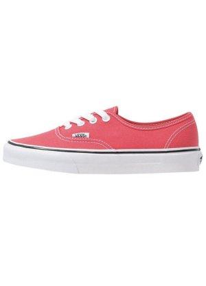 Vans Zapatos de patinador rojo claro