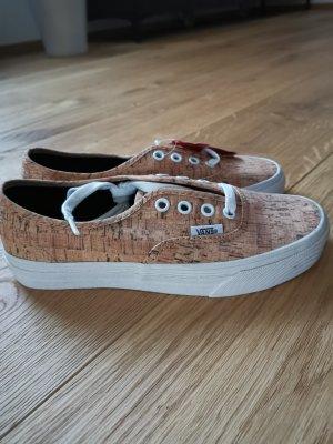 Vans Chaussure skate marron clair