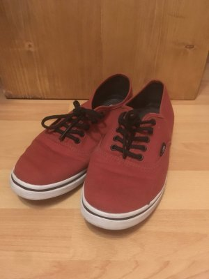 Vans Authentic Lo Pro Dunkelrot