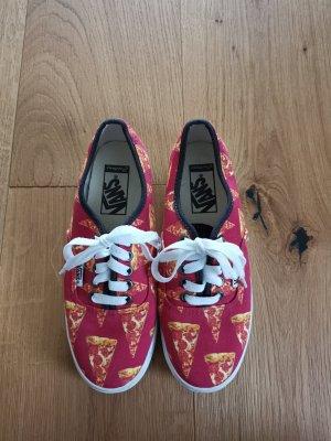 Vans Chaussure skate jaune-rouge