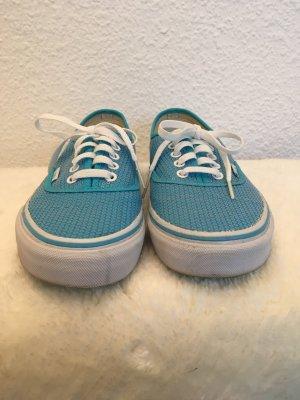 Vans Authentic mit Pailletten blau