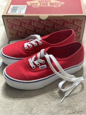VANS authentic Platform 2.0 NEU Rot 36,5 / 37