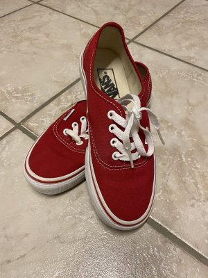Vans Authentic, rot, Größe 36
