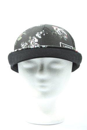 Vans Basecap schwarz-weiß Motivdruck Casual-Look