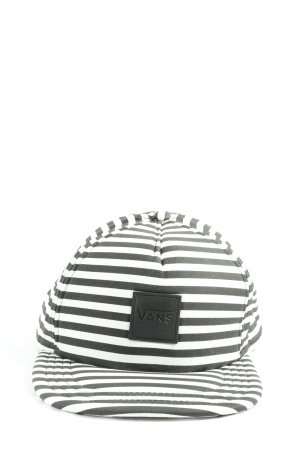 Vans Ballonmütze schwarz-weiß Streifenmuster Casual-Look
