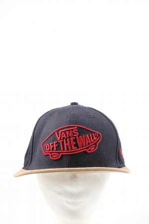 Vans Baseball Cap black-cream embroidered lettering casual look