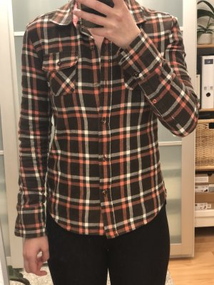 Vans Camisa de franela marrón
