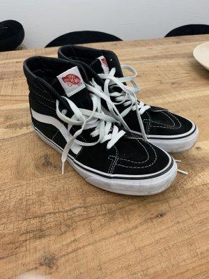 Vans Zapatos de patinador negro-blanco