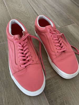 Vans Lace Shoes raspberry-red-magenta