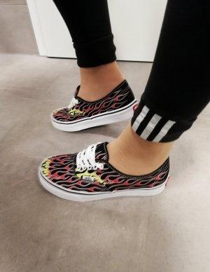 vans classic Sneaker Flammen Neu 38.5