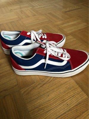 Vans Scarpa skate rosso-blu