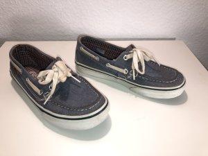 Vans Sailing Shoes white-slate-gray cotton