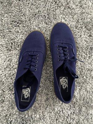 Vans Zapatos brogue azul oscuro-marrón claro