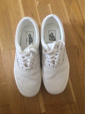 Vans Platform Trainers white-natural white