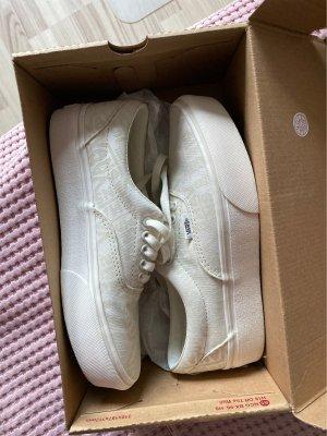Vans Zapatos de patinador blanco puro-blanco