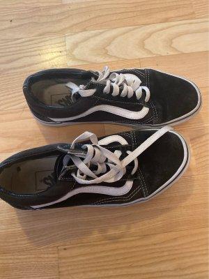Vans Chaussure skate noir-blanc