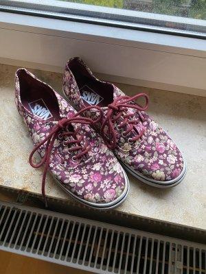 Vans Zapatos de patinador púrpura-crema