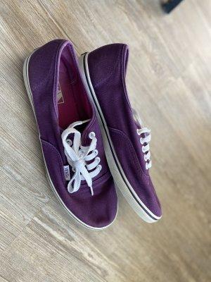 Vans Gr.40 lila rot violett Schuhe Sneaker