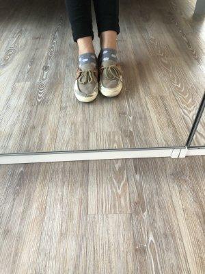 Vans Zapatos de marinero beige claro