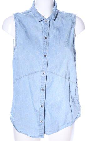 Vans Hemd-Bluse blau Allover-Druck Casual-Look