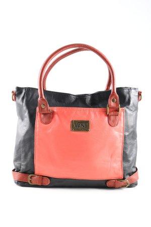 Vans Henkeltasche schwarz-pink Casual-Look