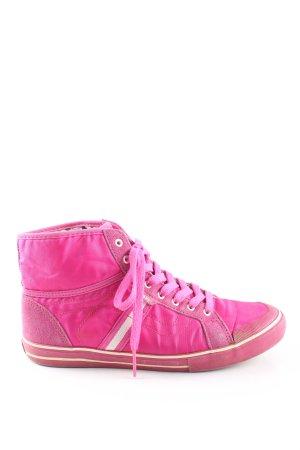 Vans High Top Sneaker pink Casual-Look
