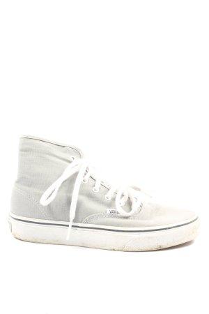 Vans High Top Sneaker hellgrau Casual-Look