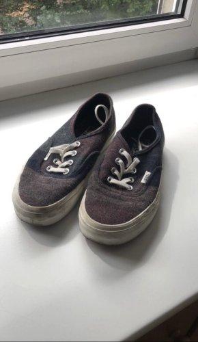 Vans Chaussure skate brun rouge