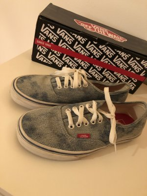Vans in Jeans-Verwaschene Optik