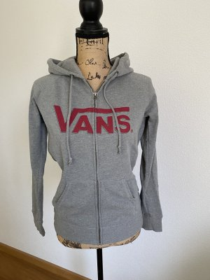 Vans Veste sweat gris-rouge