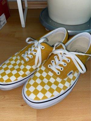 Vans Chaussure skate jaune-blanc
