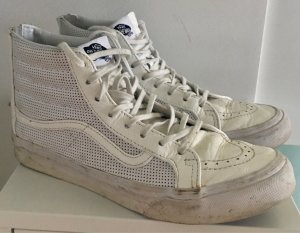 VANS, Leder-Skateboard-Sneaker, Größe 39