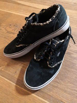 Vans Chaussure skate noir cuir
