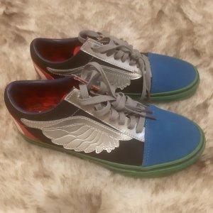 Vans Chaussure skate multicolore cuir