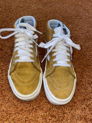 Vans Chaussure skate orange doré